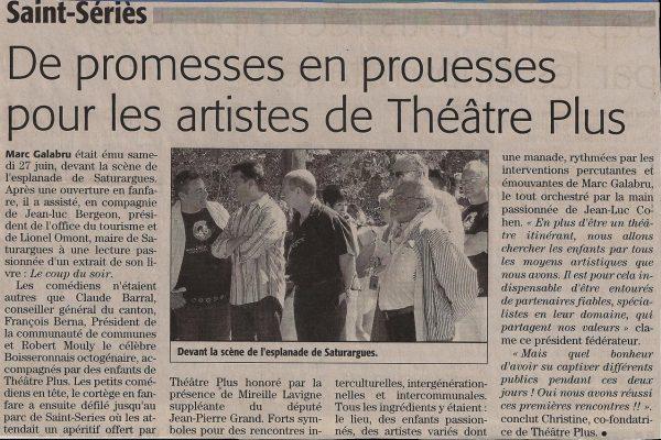 Stage théâtre Montpellier